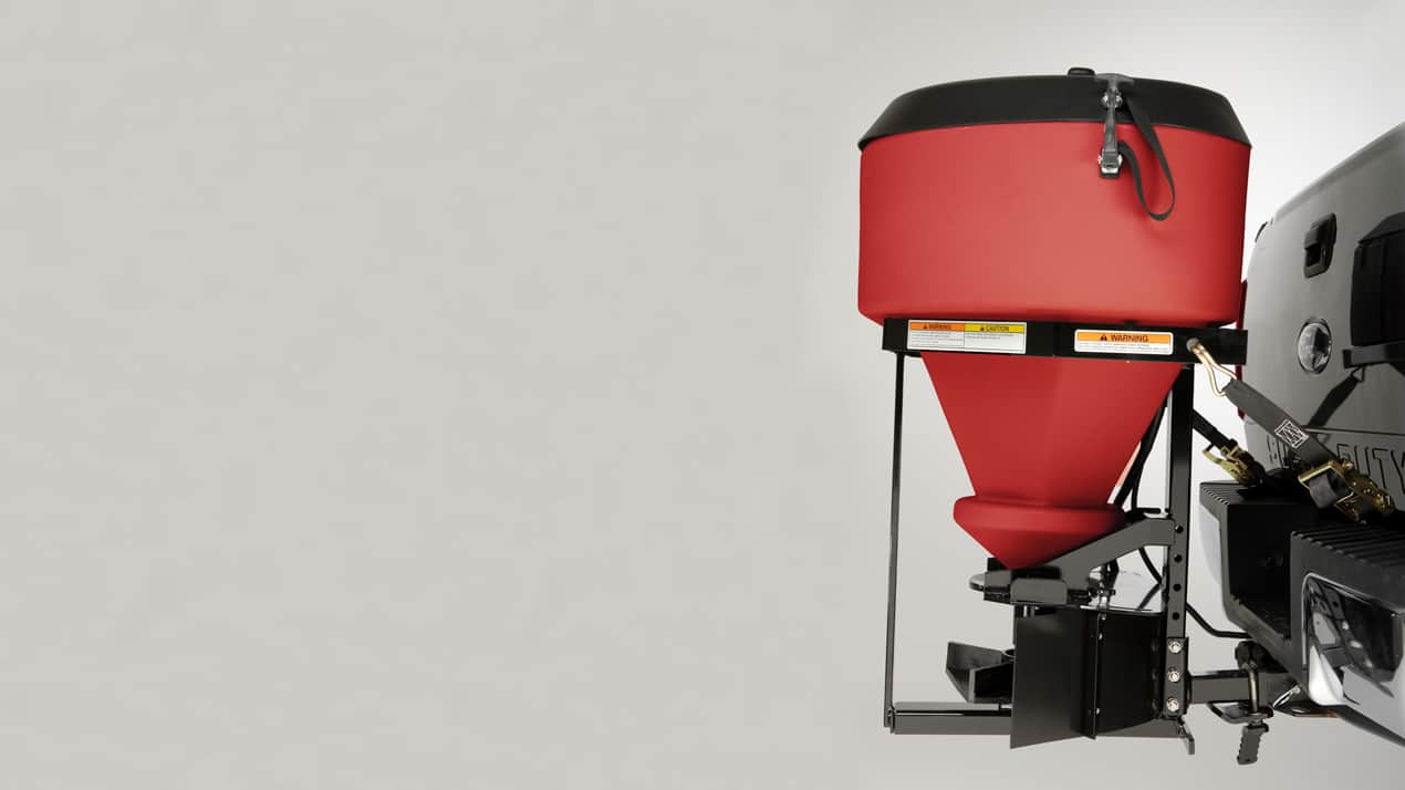 Western Model 500 tailgate spreader mounting options