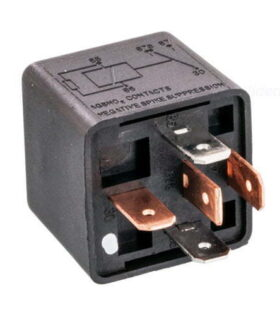 Beuler 5083W 12 VDC Automotive 5-Pin Relay SPDT 40/60A without tab and Negative spike protection