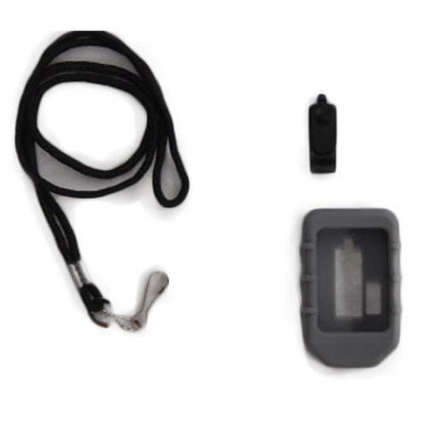 Rubber Boot and Lanyard for 8 button wireless transmitter