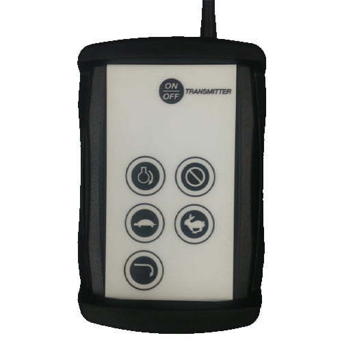 Large Gas Salt Spreader Transmitter Wireless Controller