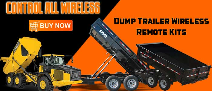 dump trailer wireless, wireless dump trailer, wireless remote trailer, trailer wireless remote control, wireless remote control trailer