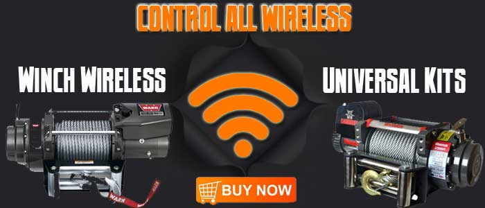 wireless winch remote control, universal winch remote, universal wireless winch, wireless winch