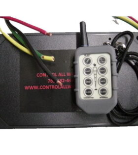 Dual DC Electric Salt Spreader Wireless Controllers