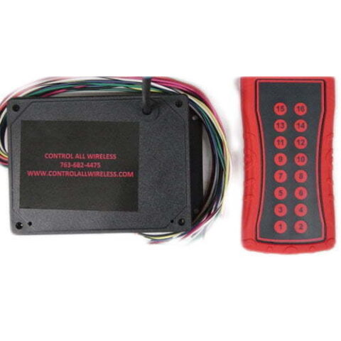 RF800-3 – 15 Function Wireless Remote Controller Transmitter & Receiver Conversion Kit – 15 Momentary Functions
